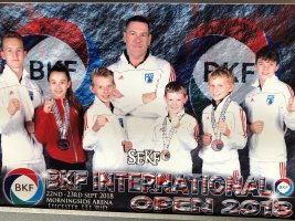 British International Open Success