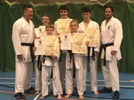 Five New Black Belts For The SEKF