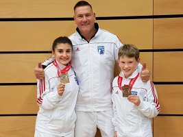 Medals at the CEWKA International Open