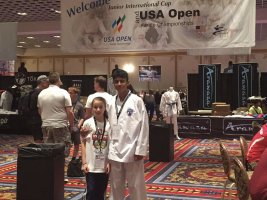 Amazing Performances at the USA Open
