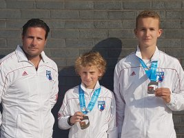 SEKF Claim Medals at the Central England Open