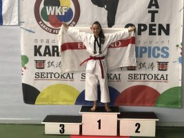Carla Wins Gold In Helsinki Representing England