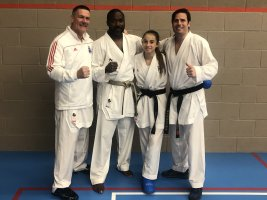 Kumite Legend 'Wayne Otto' Visits the SEKF