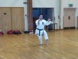 Jonathan Mottram runs Kata course for the SEKF
